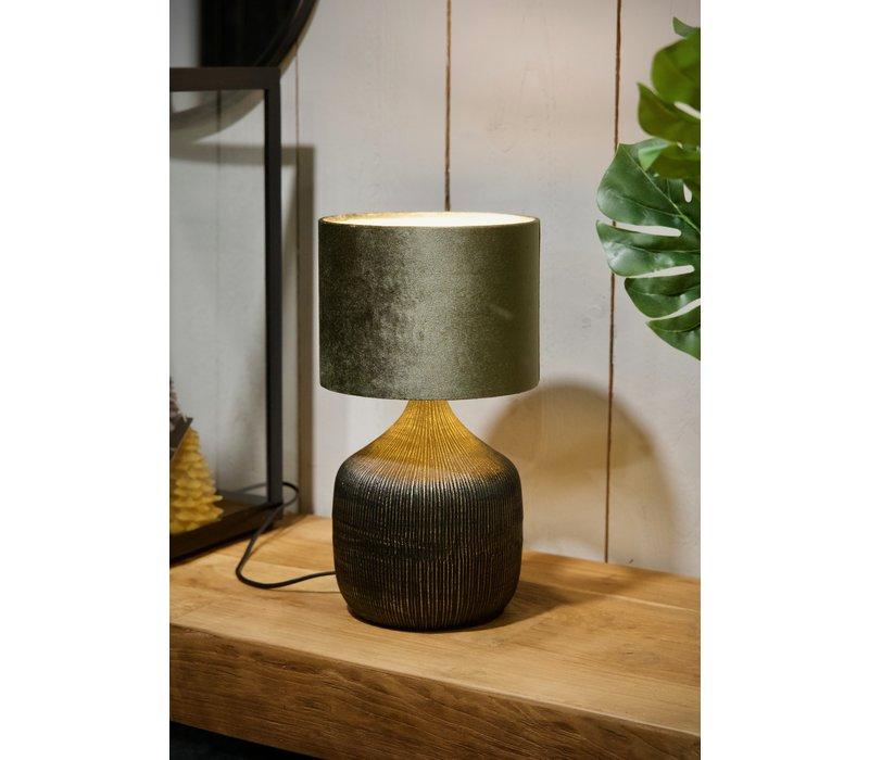 Tafellamp Siena Zwart