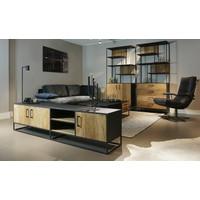 Tv dressoir Steel & Teak