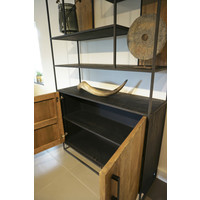 Wandkast Steel & Teak 120 cm
