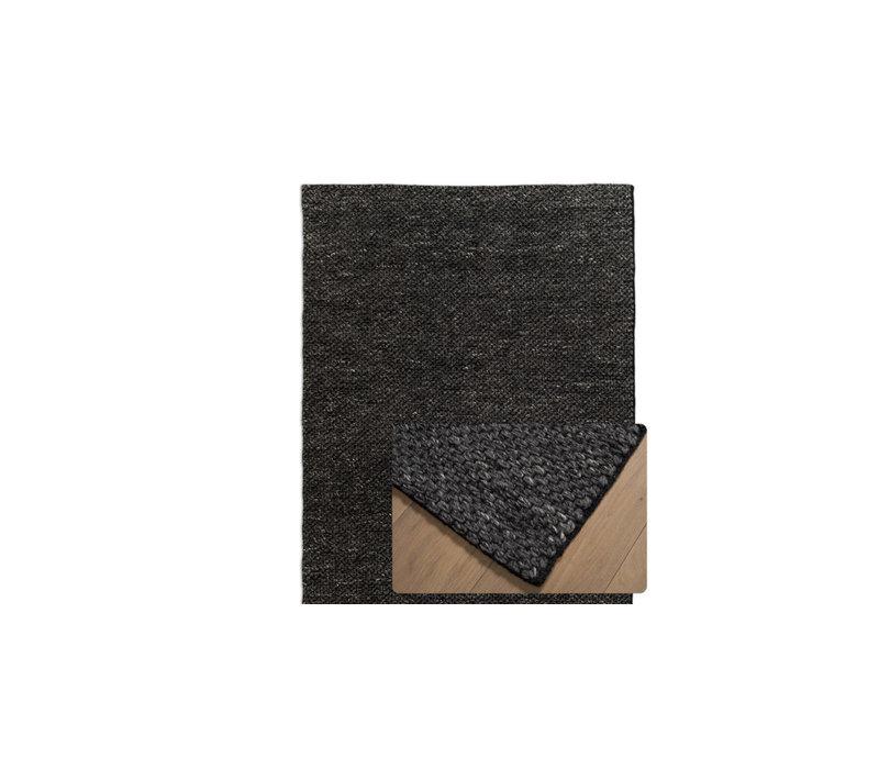 Vloerkleed Shantra Wool Basalt
