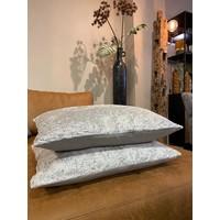 Sierkussen Brynxz Collections Velvet Spring Grey