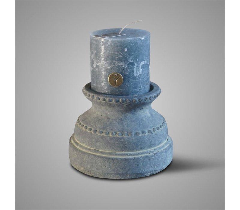 Candleholder Atmosphere Relief Majestic Vintage