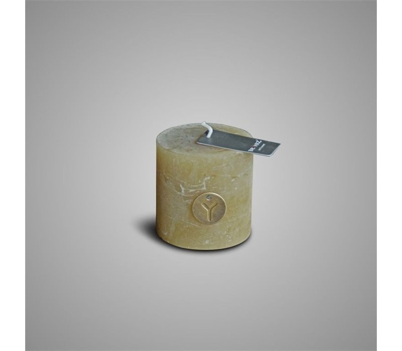 Rustic Candle Olive Oil D.7 H.7