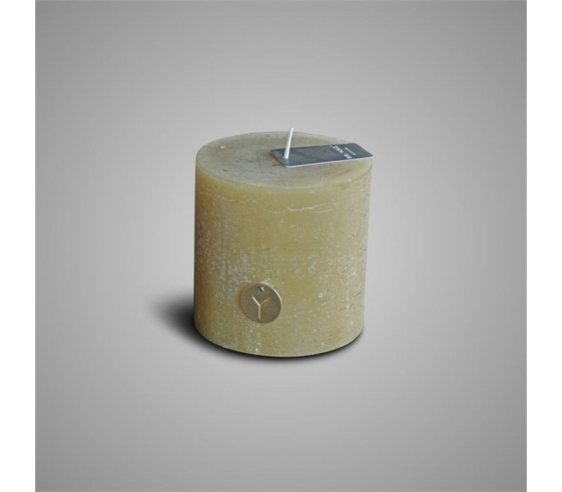 Rustic Candle Olive Oil D.10 H.10