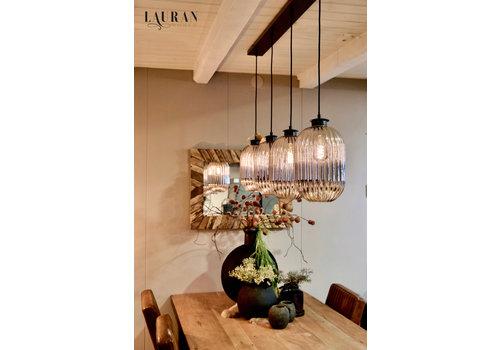 Hanglamp balk glass