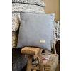 Manifattura Lombarda Sierkussen 45 x 45 lichtblauw