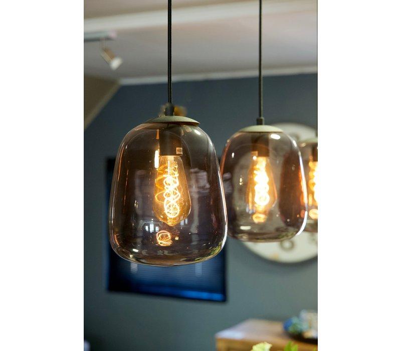 Hanglamp 4 glasbollen