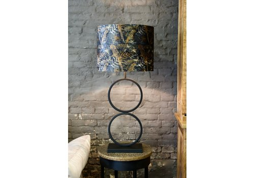 Tafellamp dubbel ring