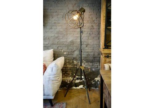 Vloerlamp industrieel metaal