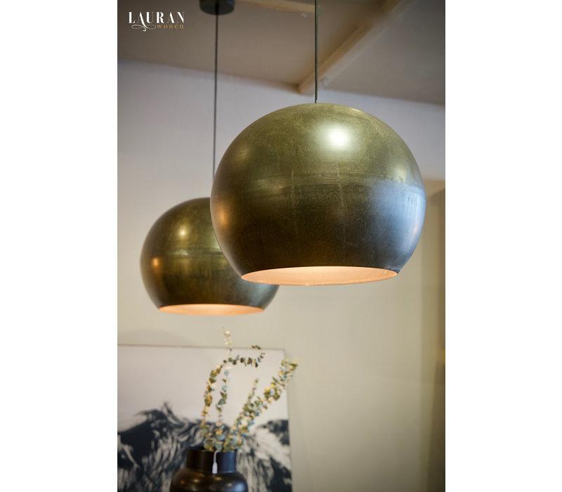 Hanglamp bol bronze