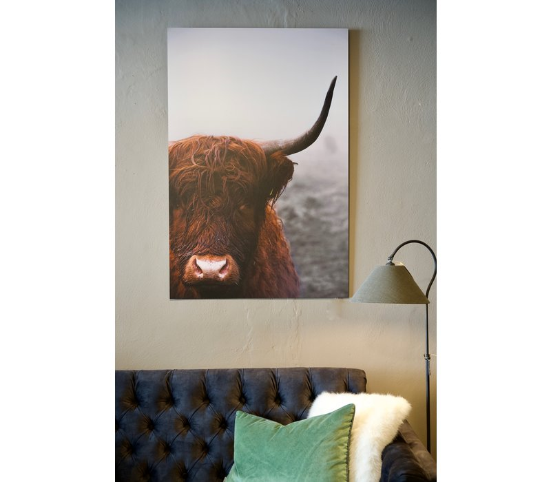 Wanddecoratie Schotse Hooglander