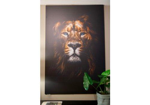 Wanddecoratie Leeuwenkop 120 cm