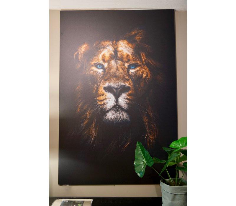 Wanddecoratie Leeuwenkop