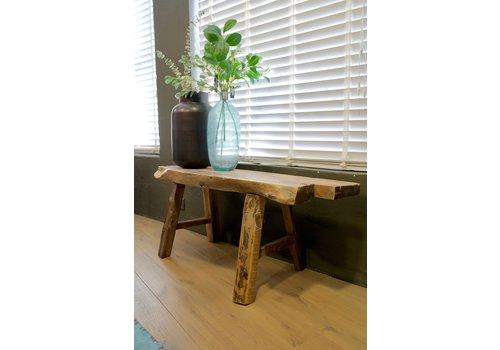 Bankje oud hout 114 cm