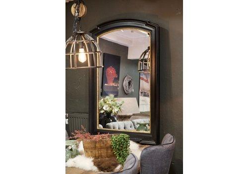Spiegel zwart goud 125