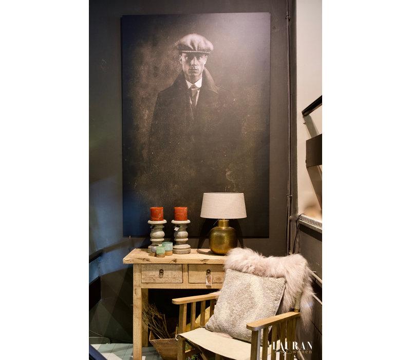 Wandpaneel Vintage Man