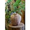 Oude terracotta vaas 1