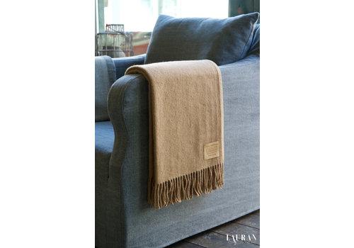 Manifattura Lombarda Plaid Camel Wool Brown