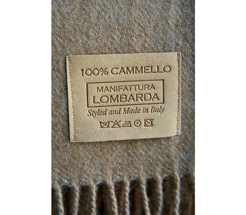 Plaid Camel Wool Brown