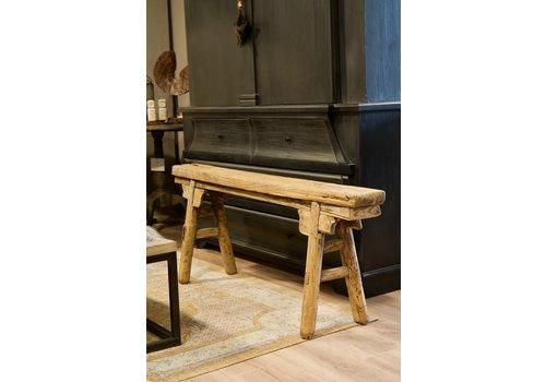 Authentiek houten bankje 3