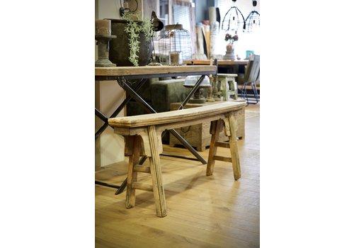 Authentiek houten bankje 4