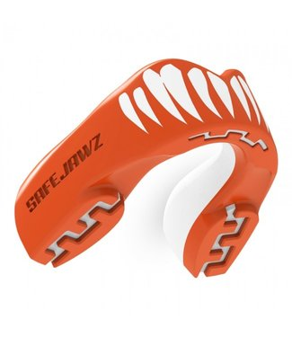 SafeJawz Extro Series Viper Mouth Guard Orange