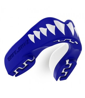 SafeJawz Extro Series Shark Bitje Blauw