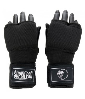 Super Pro Combat Gear Inner Gloves With Hand Wraps