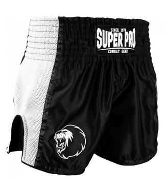 Super Pro Combat Gear Muay Thai Shorts Brave