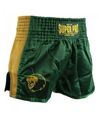 Super Pro Kickboks Broekje Brave Groen