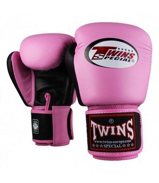 Twins Bokshandschoenen BGVL 3 Roze/Zwart