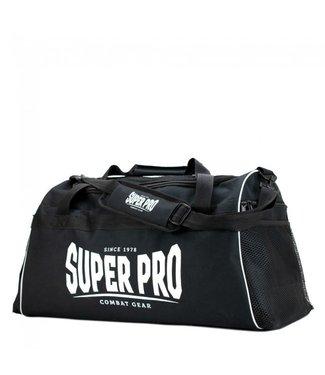 Super Pro Sporttas Gym Zwart