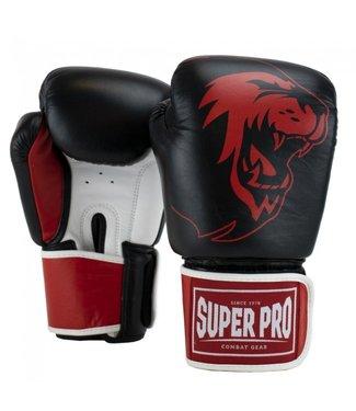 Super Pro Bokshandschoenen Warrior Rood