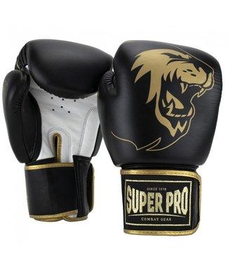 Super Pro Bokshandschoenen Warrior Goud