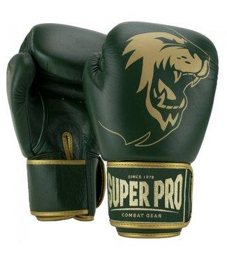 Super Pro Bokshandschoenen Warrior Groen