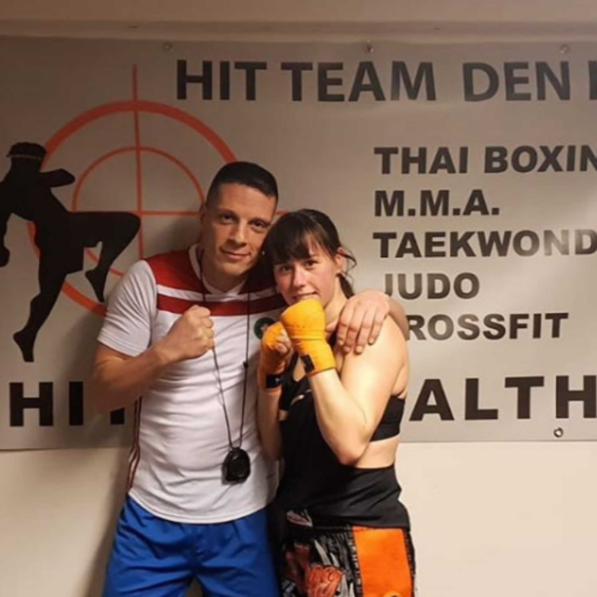 Rachid and Roxanne at Hit Team