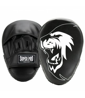 Super Pro Combat Gear Handpads Curved PU