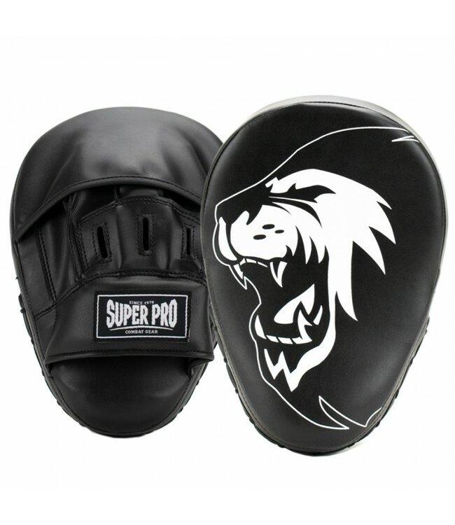 Super Pro Handpads Curved PU Zwart