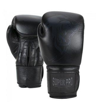 Super Pro Legend Bokshandschoenen Zwart
