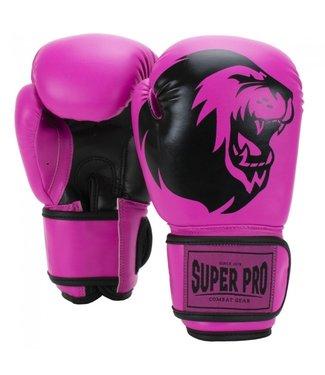 Super Pro Talent Bokshandschoenen Kind Roze