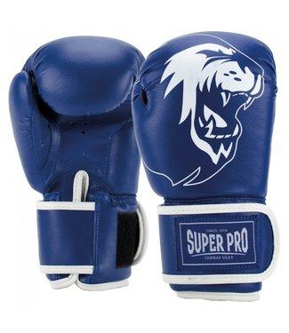 Super Pro Talent Bokshandschoenen Kind Blauw