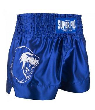 Super Pro Kickboks Broekje Hero Blauw