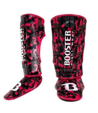 Booster Fight Gear Shin Guards Camo