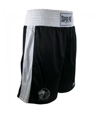 Super Pro Boxing Shorts Club Zwart