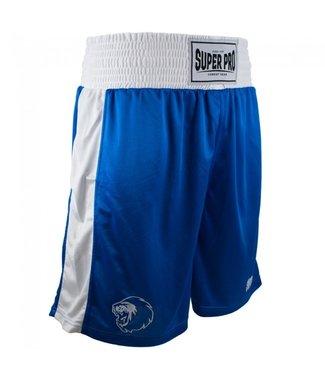 Super Pro Boxing Shorts Club Blauw