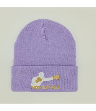 Fightstyle Beanie Lila