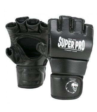 Super Pro MMA Handschoenen Brawler Zwart