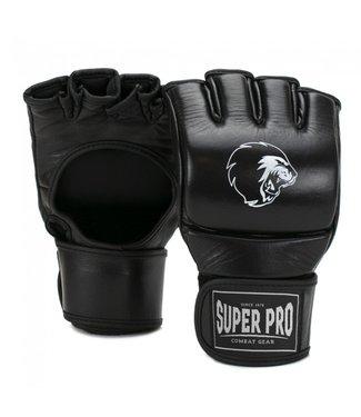 Super Pro MMA Handschoenen Slugger Zwart