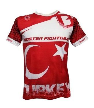 Booster T-shirt Turkije Rood