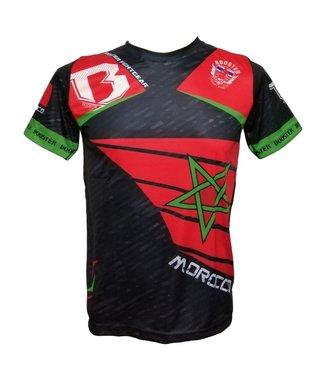 Booster T-shirt Marokko Rood